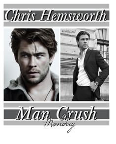 """Man Crush Monday: Chris Hemsworth"" by stackmel ❤ liked on Polyvore featuring art and chrishemsworth"