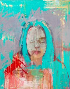 "Saatchi Art Artist christos tsimaris; Painting, ""Eyes shut"" #art"
