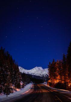 Jasper National Park is the world's largest dark sky preserve.