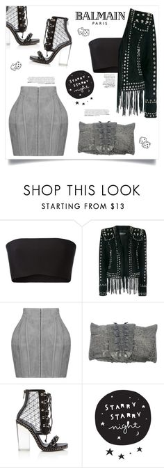 """Simple or not. Who's care?"" by devaanggraenii ❤ liked on Polyvore featuring Balmain and balmain"