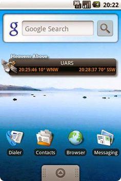 SatTrack è un programma per il tracking dei satelliti che permette di avere due schermate aggiornate in tempo reale.
