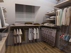 гардеробная на мансардном этаже - Поиск в Google