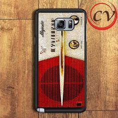 Vintage Cracked Majestic Radio Samsung Galaxy Note 6 Case
