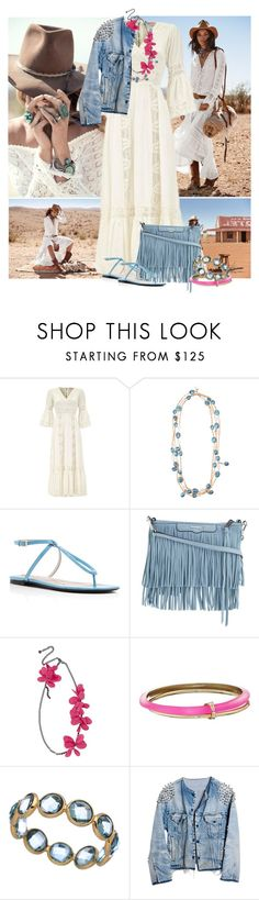 """Untitled #442"" by radamorrison ❤ liked on Polyvore featuring Spell & the Gypsy Collective, Furla, Rebecca Minkoff, Lanvin, Alexis Bittar, Tresor and Runwaydreamz"