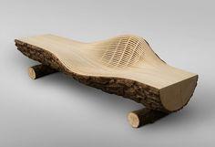 Wood Sofa 18 by Bae Se Hwa