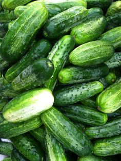 Home Grown Pickling Cucumbers