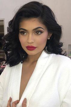 Kylie Jenner Makeup Look, Looks Kylie Jenner, Kylie Jenner Style, Kendall Jenner, Kylie Jenner Short Hair, Jenner Hair, Kylie Jenner Hollywood Hair, Kylie Jenner Photoshoot, Prom Makeup