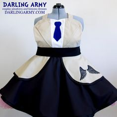 Castiel Supernatural Cosplay Pinafore Dress Access by DarlingArmy.deviantart.com on @DeviantArt