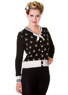 Banned Apparel Anchors Cardigan, £31.99