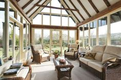 barn conversion conservatory