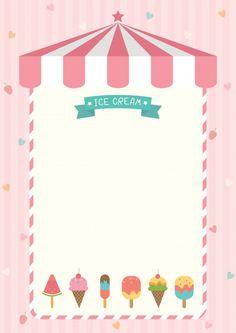 Ice Cream Menu, Ice Cream Logo, Ice Cream Theme, Ice Cream Candy, Ice Cream Template, Menu Template, Templates, Ice Cream Background, Today Is Monday