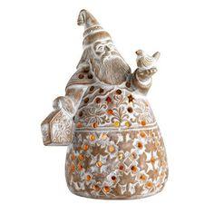 Santa Claus Terracotta Lantern