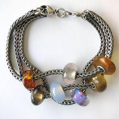 Great idea! 1 clasp with multiple bracelets!