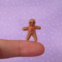 PDF PATTERN To Crochet a Micro Miniature by MuffaMiniatures
