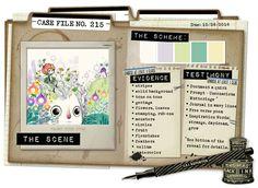 Case File 215 Color stories inspiration
