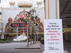 Hard Rock Bought Trump Taj Mahal and Union Workers Could Benefit
