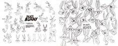 Bugs Bunny Model Sheet Pt. 1 by guibor.deviantart.com on @deviantART