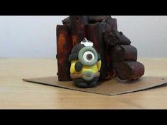 Let's make cute Pirate Stuart minion with polymer clay!