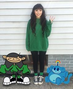 100 Halloween Costumes for Teens which are Charming & Smart - Ethinify - Teen Halloween Costumes - Costume Cartoon Halloween Costumes, Cute Costumes, Halloween Cosplay, Halloween Outfits, Costumes For Women, 90s Costume, Women Halloween, Costume Ideas, Simple Costumes