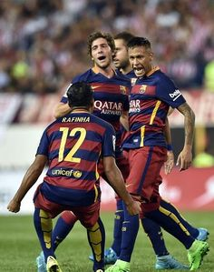 "barcastuff on Twitter: ""Picture: Neymar celebrating #fcblive [via @Barzamorocco] http://t.co/RkydjlvaJb"""