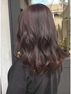 バイオレット×グレージュ バイオレットアッシュ K Beauty, Hair And Nails, My Hair, Salons, Cool Hairstyles, Hair Color, Long Hair Styles, Makeup, Fashion