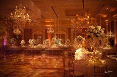 Jennifer J Events - South Florida i love the chandeliers