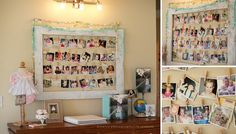 photo display ideas grad party