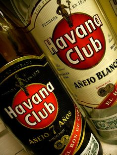 BEST RUM EVER!! Made in Cuba- I drink the Anejo 15 anos.