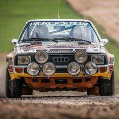 #Audi #Quattro #Group-B #Rally #Car #SportCar