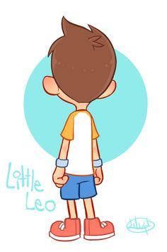 Little Leo Turn Around GIF by LuigiL.deviantart.com on @deviantART