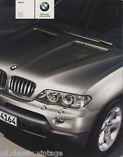 BMW - X5 prospekt/brochure/folder Dutch 2003 | eBay