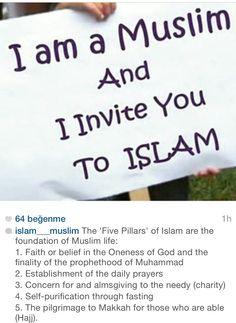 I am a Muslim and I invite you to ISLAM - #alhamdulillahforeverything #alhamdulillah #TheProphetMuhammad #Heart #Love #Halal #Haram #TurntoAllah #Quran #Akhirah #Iman #Sahaba (رضي الله عنه) #Musalla #Ruglife #LoveyourLord #Deen #Allah (ﷻ) #Muhammad (ﷺ) #Dawah #Muslim #Salah #Dunya #Repent #Iman #Islam #Muslimah #Hijab #Beard #Quran #Sunnah #Quote #hadith #hadeeth #quran #coran #koran #kuran #corán #hadis #kuranıkerim #salavat #dua #islam #muslim #muslima #muslimah #müslüman #sunnah #ALLAH…