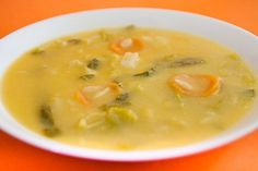 Sopa de Grão com Legumes | SaborIntenso.com