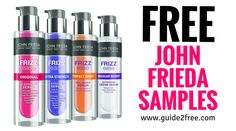 Join the John Frieda Elite Club AND get sent exclusive free samples and coupon offers right to your email inbox! Free Beauty Samples, Free Makeup Samples, Free Samples, Free Stuff By Mail, Get Free Stuff, Work From Home Companies, Mail Gifts, Subscription Gifts, Save Money On Groceries