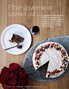Spiced christmas cake with walnuts and dates by Morten Heiberg in Bo Bedre