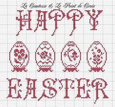 Happy Easter pattern | REPINNED