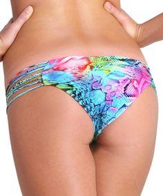 Luli Fama - Sea Salt Angel Braided Hot Buns Bikini Bottom   Beachbliss