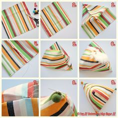 // Between the lines //: DIY Gift Ideas # 4 :: Whimsical Pillows… - Handcrafted Ideen Fabric Crafts, Sewing Crafts, Sewing Projects, Diy Crafts, Sewing Ideas, Cute Pillows, Diy Pillows, Fluffy Pillows, Sewing For Kids