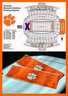 First Clemson Football Tickets