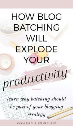 Learn one of the number one productivity tip for bloggers: blog batching! Click to learn more #bloggingtips #blogging #productivitytips