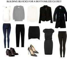 MINIMAL + CLASSIC: building blocks for bottomless closet