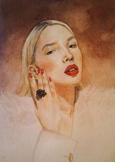 draw, fashion illustration, Samokhvalova Anastasiya