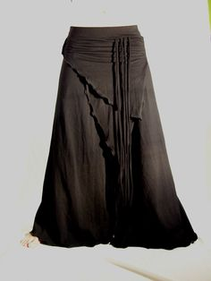 Yoga tribal bellydance VERY comfy pants black  YOUR by creaturre, $70.00