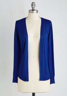 $20.99 love this blue cardigan at ModCloth