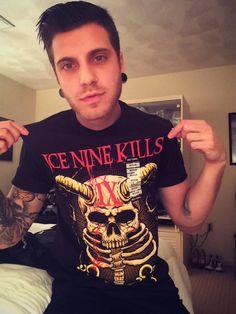 Spencer Charnas (lead singer, Ice Nine Kills)
