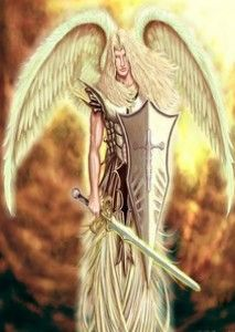 """I am an Angel Energy Healer, Angel Card Reader and Reiki & Seichem Healer and the one question I am asked regularly is """"How do I connect with my Guardian Angel?"""" Firstly, let me tell you that everybody can connect with their Guardian Angel! Angels Among Us, Angels And Demons, Dark Fantasy Art, Art Goth, Male Angels, Warrior Angel, Saint Michel, Angel Art, St Michael"""