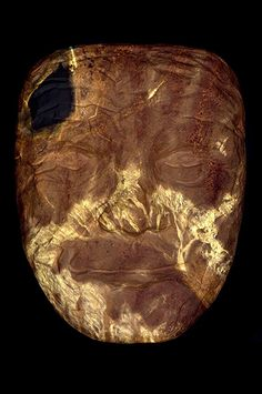 "Yury Ermolenko, ""THE DARK SIDE OF THE FACE"", 2015, acrylic on mask, 77x58,5 cm. #YuryErmolenko #еrmolenko #ЮрийЕрмоленко #ермоленко #yuryermolenko #єрмоленкоюрiй #ermolenkoyury #ермоленкоюрий #юрийермоленко #юрiйєрмоленко #ЮрiйЄрмоленко #єрмоленко #rapanstudio #modernart #fineart #contemporaryart #painting #art #picture #живопись #texture #современноеискусство #facevinyl #contemporaryartgallery #MFA #dark #face #mask #visualart #acrylic #artwork #magic #metaphysics #metaphysical #маска"