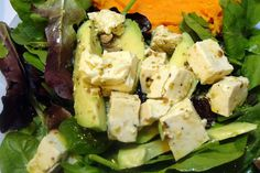 The Suburban Hippie - she's one resourceful cookie: Salad with Vegan Feta