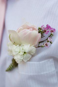 Above shirt pocket for groomsmen