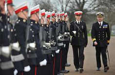 Pictured; 132 Troop Kings Squad Pass-out Parade. The ceremony took place on the Parade ground at Commando Training Centre, Lympstone. The presenting officer for the occasion was Flag Officer Sea Training (FOST) Rear Admiral C C C Johnstone CBE. Image: LA(PHOT) Emz Nolan.